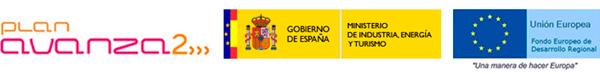 Cofinanciado por el Ministerio de Industria, Energía y Turismo, dentro del Plan Nacional de Investigación Científica, Desarrollo e Innovación Tecnológica 2008-2011 y por el Fondo Europeo de Desarrollo Regional (FEDER)
